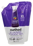 Method - Laundry Detergent 8x Concentrated Refill Lavender Cedar 85 Loads - 34 oz.