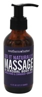 Southern Butter - Massage & Sensual Body Oil Sandalwood & Cinnamon - 4.5 oz.