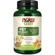 NOW Foods - Now Pets Relaxant For Dogs/Cats - 90 Chewable Tablets