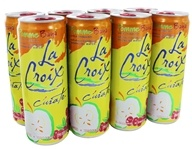 100% Natural Sparkling Water Apple Cranberry - 8 Can(s)
