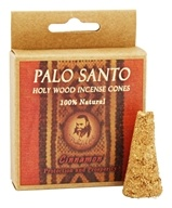 Prabhuji's Gifts - Palo Santo Holy Wood Incense Cones Protection & Prosperity Cinnamon - 6 Cone(s)