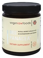 Bee Panacea - Royal Honey Infused With 20 SuperFoods and Herbs - 10 oz.