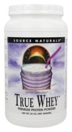 Source Naturals - True Whey Premium Protein Powder - 32 oz.