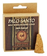 Prabhuji's Gifts - Palo Santo Holy Wood Incense Cones Power & Purification Traditional - 6 Cone(s)