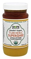Pure Indian Foods - Grassfed Organic Turmeric Superghee - 7.5 oz.