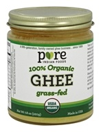 Pure Indian Foods - Grassfed Organic Ghee - 7.8 oz.