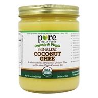 Pure Indian Foods - Grassfed Organic Primalfat Coconut Ghee - 14.2 oz.