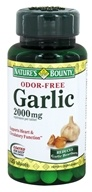 Nature's Bounty - Odor-Free Garlic 2000 mg. - 120 Tablets