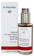 Dr. Hauschka - Almond St. John's Wort Soothing Body Oil - 2.5 oz.