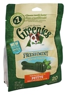 Greenies - Dental Chews For Dogs Petite Freshmint - 20 Chews