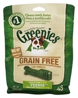 Greenies - Dental Chews For Dogs Grain Free Teenie - 43 Chews