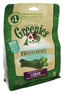 Greenies - Dental Chews For Dogs Large Freshmint - 8 Chews