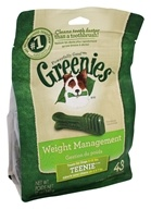 Greenies - Dental Chews For Dogs Weight Management Teenie - 43 Chews