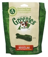 Greenies - Dental Chews For Dogs Regular - 6 Chews