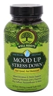 Well Roots - Mood Up Stress Down - 60 Softgels
