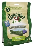 Greenies - Dental Chews For Dogs Teenie Bursting Blueberry - 43 Chews