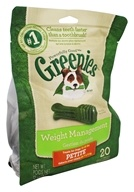 Greenies - Dental Chews For Dogs Weight Management Petite - 20 Chews