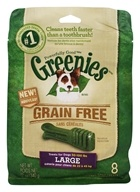 Greenies - Dental Chews For Dogs Grain Free Large - 8 Chews