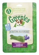 Greenies - Dental Chews For Dogs Large Bursting Blueberry - 8 Chews