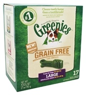 Greenies - Dental Chews For Dogs Grain Free Large - 17 Chews