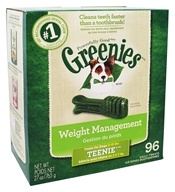 Greenies - Dental Chews For Dogs Weight Management Teenie - 45 Chews