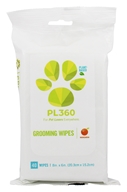 PL360 - Grooming Wipes Plant-Based Mandarin - 40 Wipe(s)