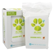 PL360 - Grooming Wipes Plant-Based Mandarin - 80 Wipe(s)