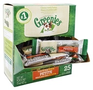 Greenies - Dental Chews For Dogs Petite - 25 Chews