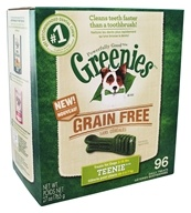 Greenies - Dental Chews For Dogs Grain Free Teenie - 96 Chews