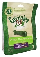 Greenies - Dental Chews For Dogs Weight Management Large - 8 Chews