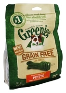 Greenies - Dental Chews For Dogs Grain Free Petite - 20 Chews