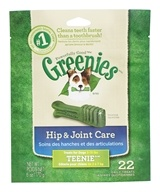 Greenies - Dental Chews For Dogs Hip and Joint Care Teenie - 22 Chews