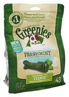 Greenies - Dental Chews For Dogs Teenie Freshmint - 43 Chews