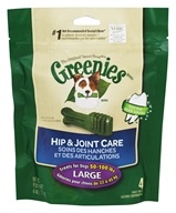 Greenies - Dental Chews For Dogs Hip and Joint Care Large - 4 Chews
