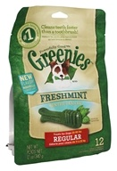 Greenies - Dental Chews For Dogs Regular Freshmint - 12 Chews