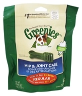 Greenies - Dental Chews For Dogs Hip and Joint Care Regular - 6 Chews