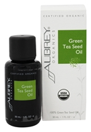 Aubrey Organics - Green Tea Seed Oil - 1 oz.