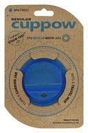 Cuppow - Canning Jar Drinking Lid Regular Mouth Blue