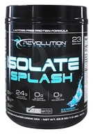 Revolution Nutrition - Whey Isolate Splash Pro Series Blue Raspberry - 1.8 lbs.