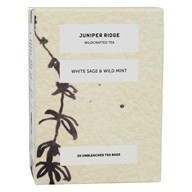 Juniper Ridge - Wild Harvested Herbal Tea White Sage and Wild Mint - 20 Tea Bags