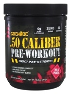 Grenade - .50 Caliber Pre-Workout Wild Punch 30 Servings - 291 Grams