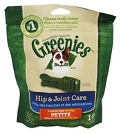 Greenies - Dental Chews For Dogs Hip and Joint Care Petite - 10 Chews