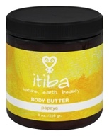 Itiba - Body Butter Papaya - 8 oz.