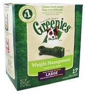 Greenies - Dental Chews For Dogs Weight Management Large - 17 Chews