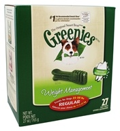 Greenies - Dental Chews For Dogs Weight Management Regular - 27 Chews