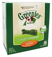 Greenies - Dental Chews For Dogs Weight Management Petite - 45 Chews