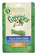 Greenies - Dental Chews For Dogs Hip and Joint Care Petite - 30 Chews