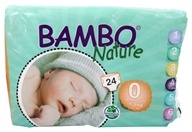 Bambo Nature - Baby Diapers Stage 0 Premature (2-7 lbs) - 24 Diaper(s)