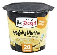 FlapJacked - Mighty Muffin with Probiotics Peanut Butter - 1.94 oz.