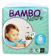 Bambo Nature - Baby Diapers Stage 5 Junior (26-49 lbs) - 27 Diaper(s)